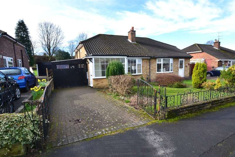 2 Bedrooms Semi Detached Bungalow for sale in Cherry Tree Drive, Hazel Grove, Stockport SK7 6AS