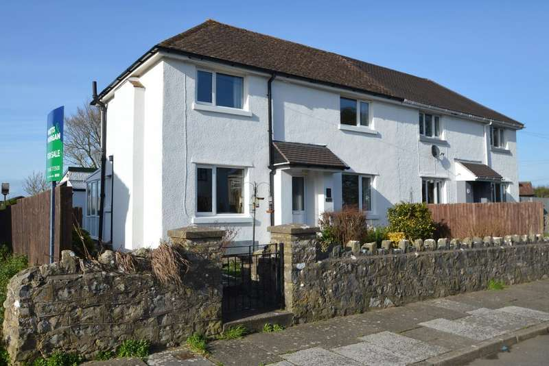 3 Bedrooms Semi Detached House for sale in Church Terrace, St Mary Church, Near Cowbridge, Vale of Glamorgan, CF71 7LU