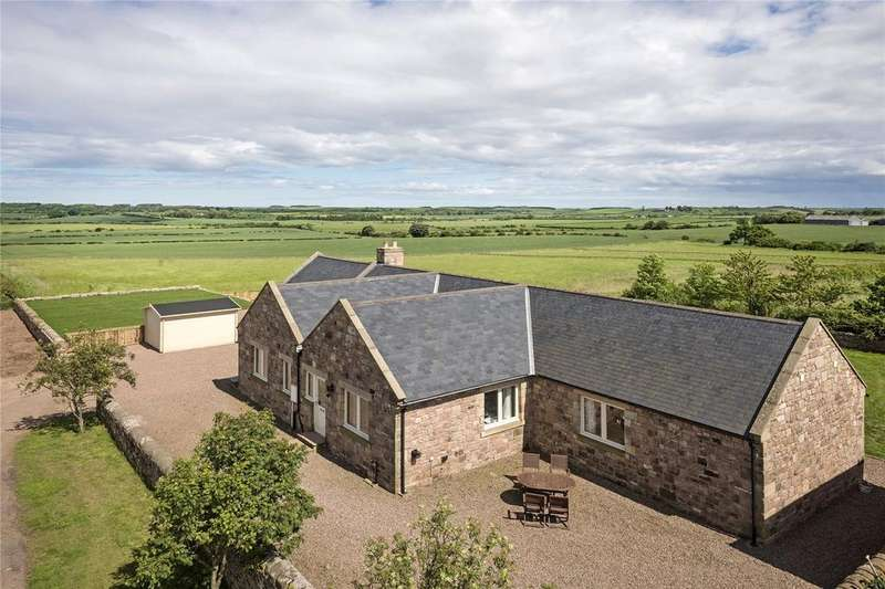 5 Bedrooms Detached House for sale in Adderstone Mains Cottages, Belford, Northumberland