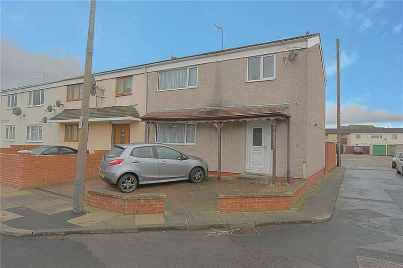 3 Bedrooms End Of Terrace House for sale in Hartlepool Close, Stockton-on-Tees