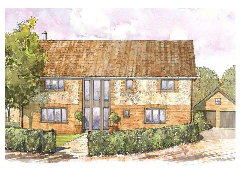 4 Bedrooms Detached House for sale in School Road, Risby, Nr. Bury St Edmunds, Suffolk, IP28