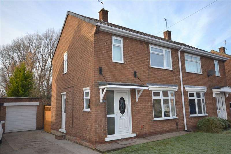 2 Bedrooms Semi Detached House for sale in Leven Close, Eaglescliffe, Stockton-on-Tees