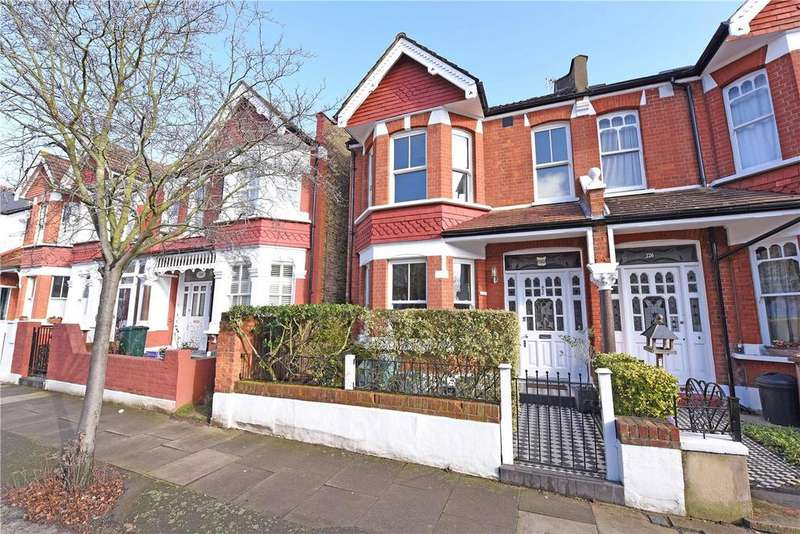 5 Bedrooms Terraced House for sale in Melrose Avenue, Wimbledon Park, London, SW19