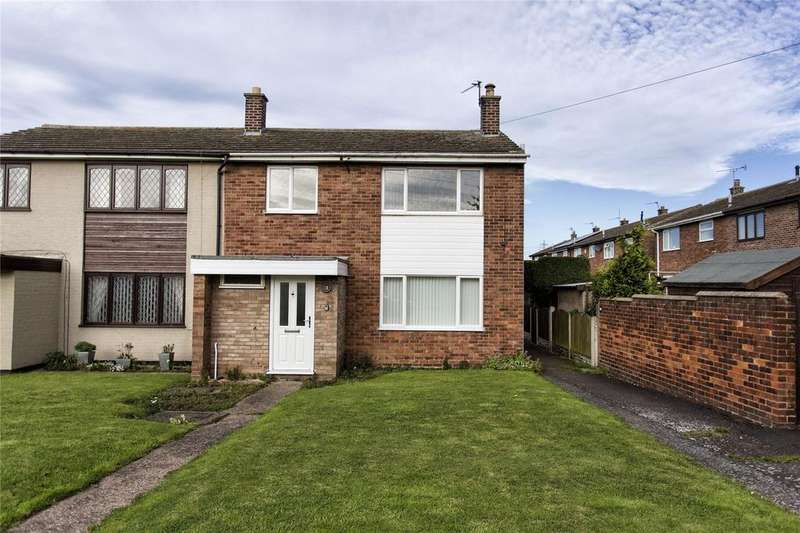 3 Bedrooms Semi Detached House for sale in Westfield Road, Eggborough, DN14