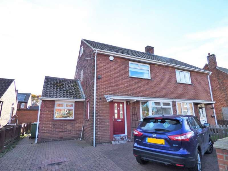 2 Bedrooms Semi Detached House for sale in Otterburn Crescent, Houghton Le Spring