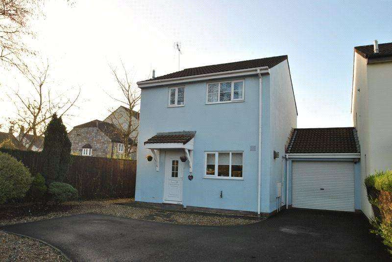 3 Bedrooms Link Detached House for sale in Wideatts Road, Cheddar, Somerset, BS27