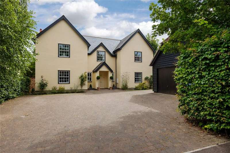 5 Bedrooms Detached House for sale in Cassander Close, Fowlmere, Royston, Herts, SG8