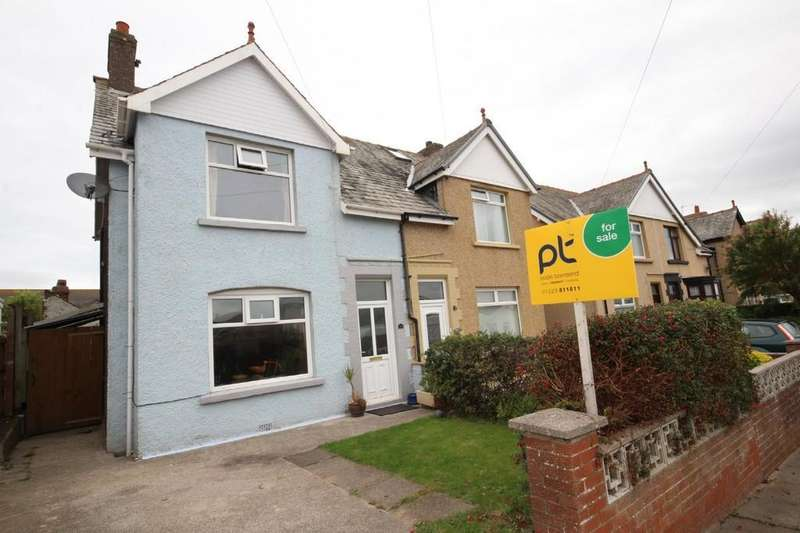 3 Bedrooms Semi Detached House for sale in 32 Beach Crescent, Walney
