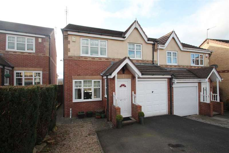3 Bedrooms Semi Detached House for sale in Braemar Court, Blackhill, Consett