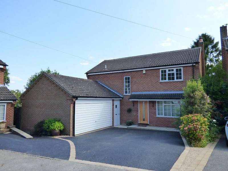 4 Bedrooms Detached House for sale in Throstle Nest Way, Brailsford