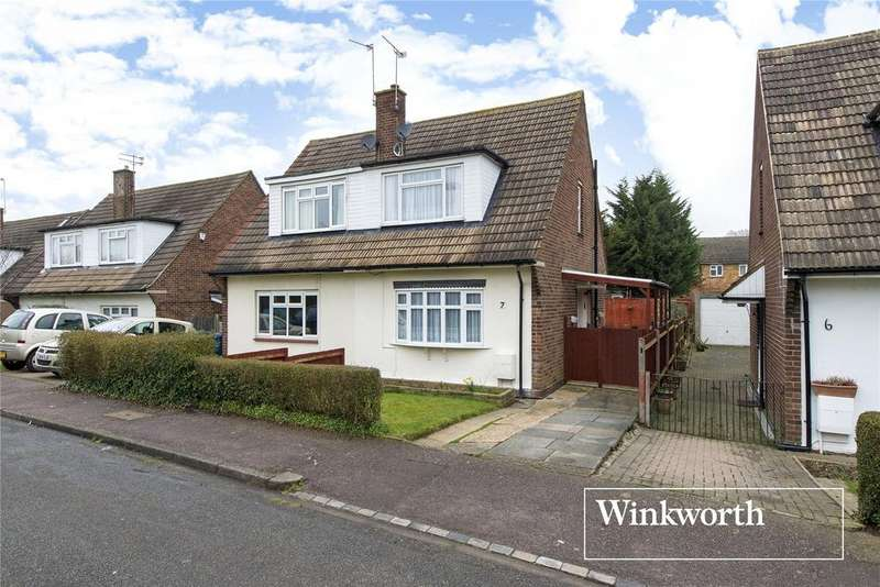 3 Bedrooms Semi Detached House for sale in Brett Road, Barnet, Hertfordshire, EN5