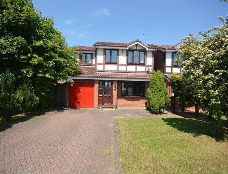 4 Bedrooms Detached House for sale in Tutbury Avenue, Perton, Wolverhampton, WV6