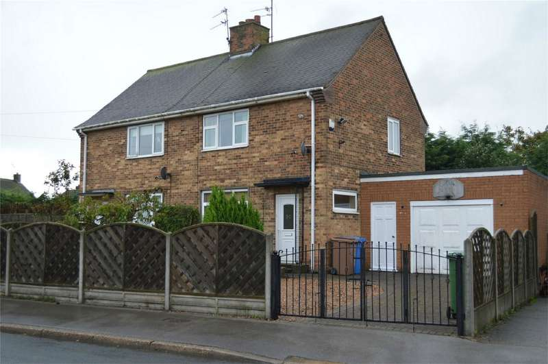2 Bedrooms Semi Detached House for sale in Ebor Avenue, Hornsea, East Riding of Yorkshire