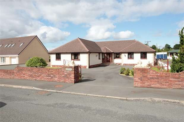 4 Bedrooms Detached Bungalow for sale in Hall Road, Ecclefechan, Lockerbie, Dumfries and Galloway