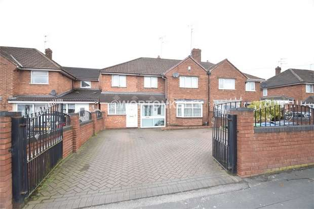5 Bedrooms Semi Detached House for sale in Rydding Lane, WEST BROMWICH, West Midlands