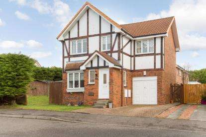4 Bedrooms Detached House for sale in Foundry Wynd, Kilwinning, North Ayrshire