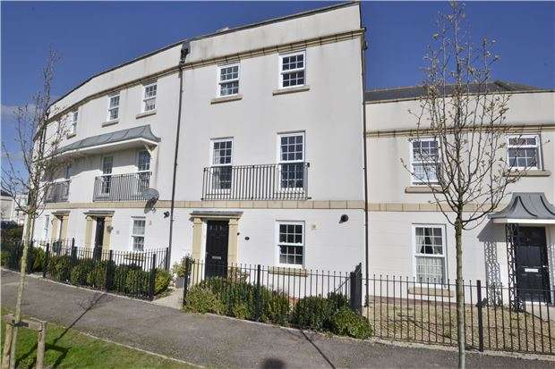 4 Bedrooms Terraced House for sale in Guan Road, Brockworth, GLOUCESTER, GL3 4RJ