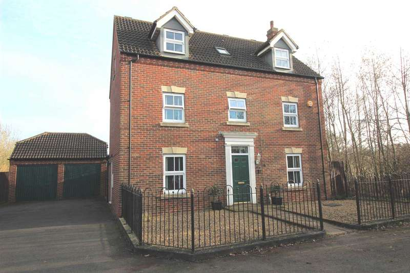 6 Bedrooms Detached House for sale in Andrews Way, Fairford Leys