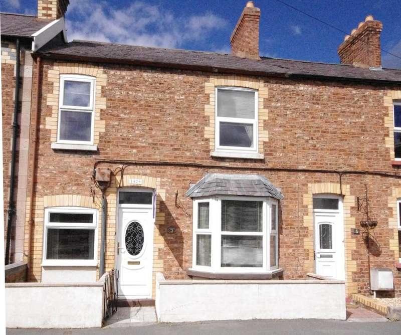 4 Bedrooms Terraced House for sale in Garden Terrace, Denbigh