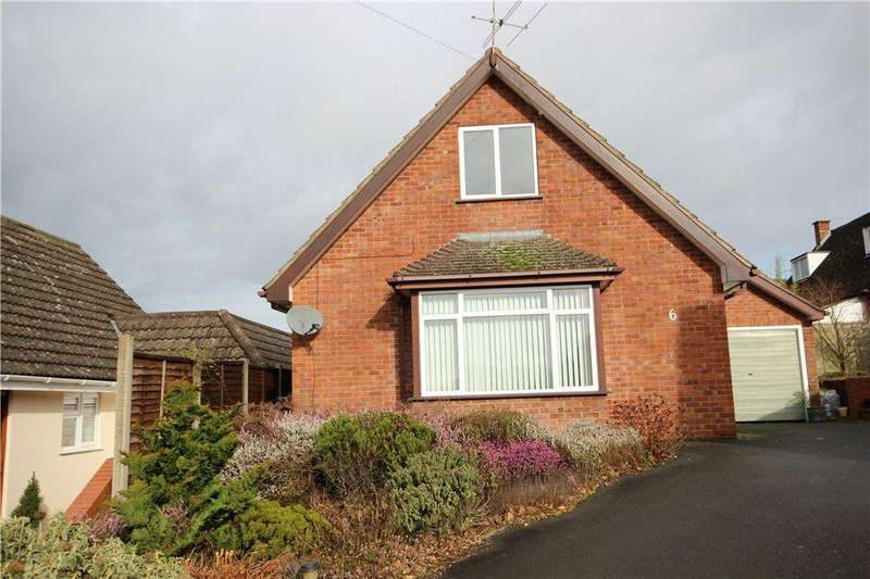 2 Bedrooms Detached Bungalow for sale in Foldgate View, Ludlow, Shropshire, SY8