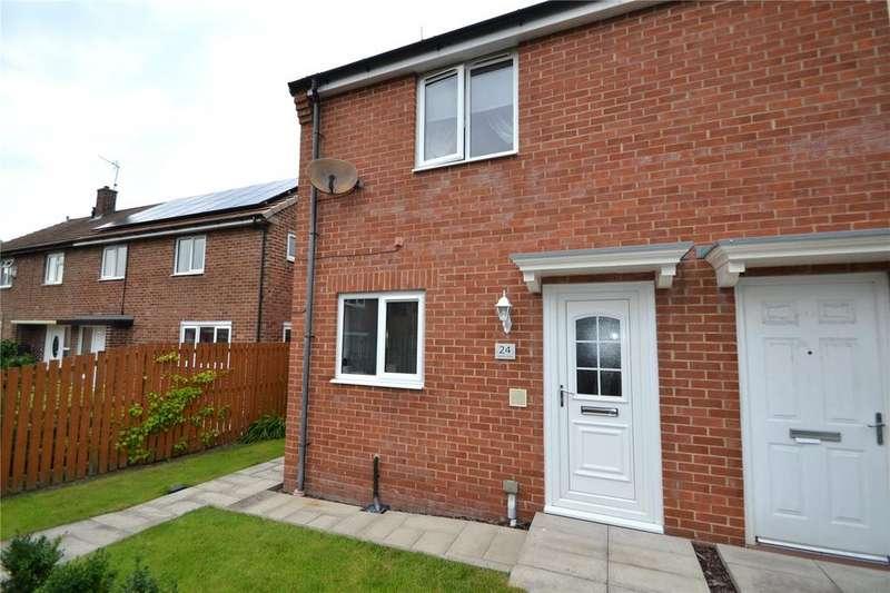 2 Bedrooms Semi Detached House for sale in Jarvis Road, Peterlee, Co.Durham, SR8