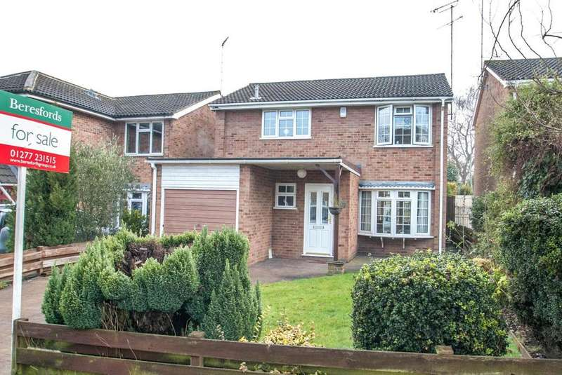 4 Bedrooms Detached House for sale in Warley Mount, Warley, Brentwood, Essex, CM14