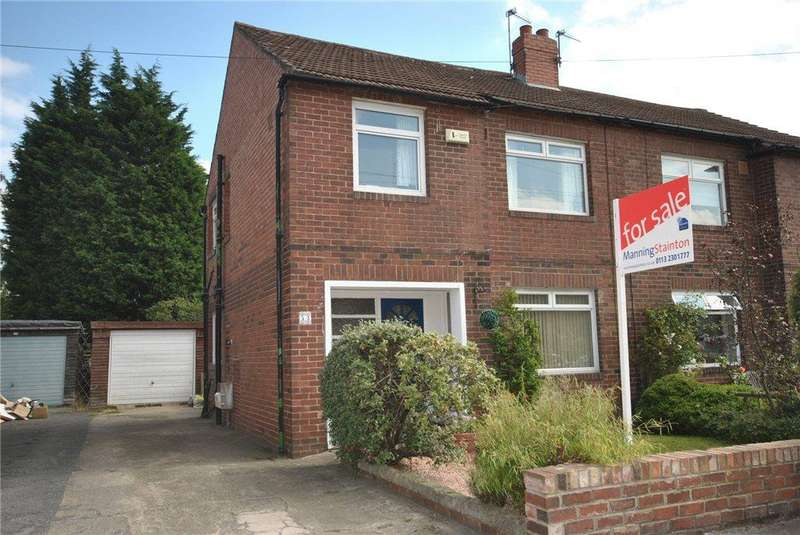 3 Bedrooms Semi Detached House for sale in Moor Grange View, Leeds, West Yorkshire