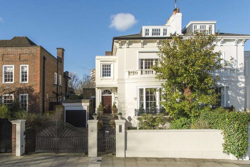 4 Bedrooms Detached House for sale in Queens Grove, St John's Wood, London, NW8