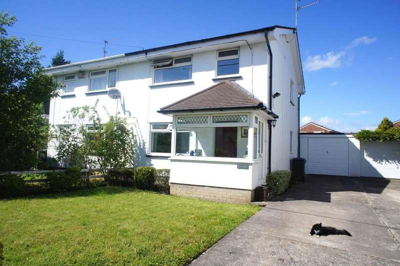 3 Bedrooms Semi Detached House for sale in Heol Creigiau, Creigiau