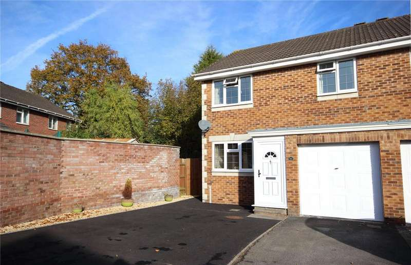 4 Bedrooms Semi Detached House for sale in Crows Grove, Bradley Stoke, Bristol, BS32