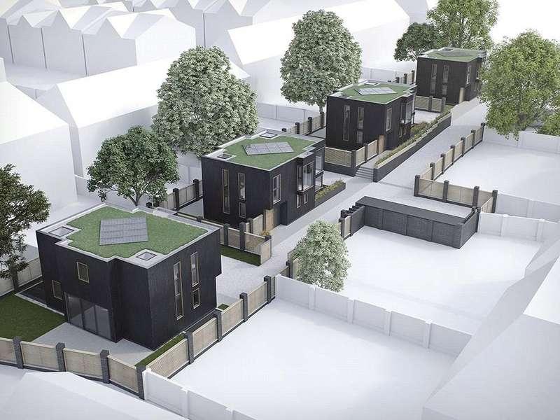 4 Bedrooms Detached House for sale in Darcies Mews, Cecile Park, London, N8