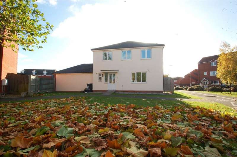 4 Bedrooms Detached House for sale in Naples View, Bridgwater, Somerset, TA6