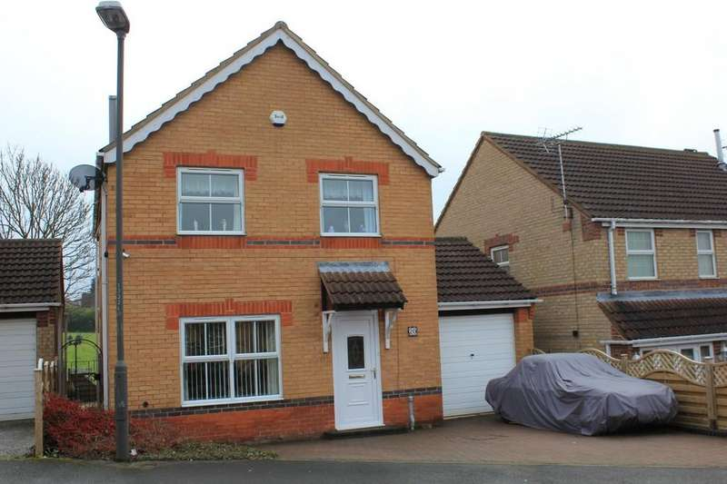 4 Bedrooms Detached House for sale in 20, Merlin Avenue, Bolsover