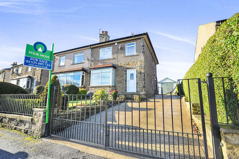 3 Bedrooms Semi Detached House for sale in Moorlands Avenue, Oakworth, Keighley, BD22