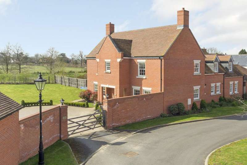 5 Bedrooms Detached House for sale in Church Close , Alveston , Stratford Upon Avon