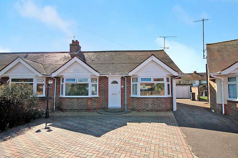 3 Bedrooms Semi Detached Bungalow for sale in Henty Road, Worthing BN14 7HF