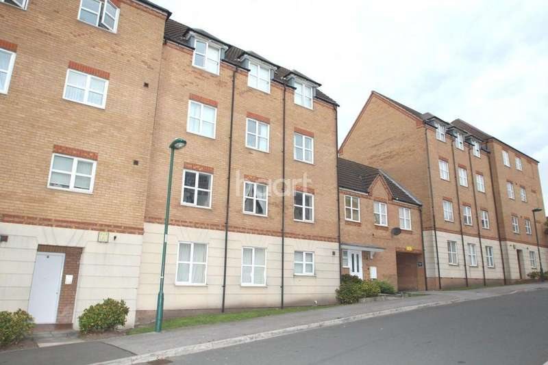 2 Bedrooms Flat for sale in Pavior Road, Bestwood, Nottingham
