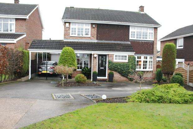 4 Bedrooms Detached House for sale in Southpark Avenue, Mansfield, Nottinghamshire, NG18