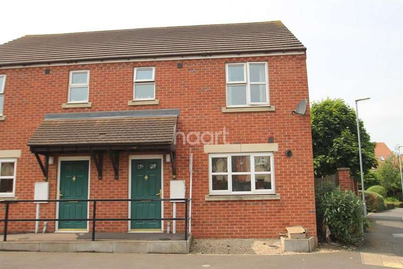 3 Bedrooms Semi Detached House for sale in Harris Way, Grantham