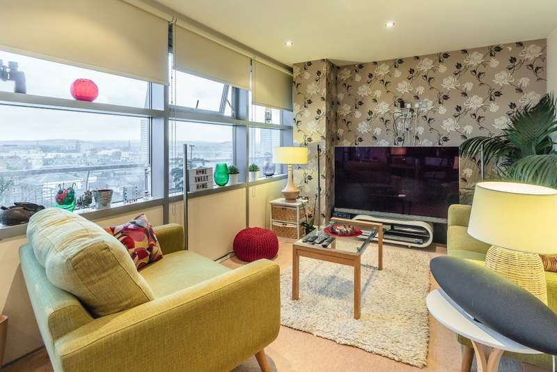 2 Bedrooms Property for sale in Echo Apartments, West Wear Street, Sunderland, Tyne & Wear, SR1 1XH