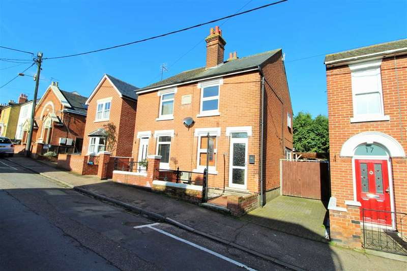 3 Bedrooms Semi Detached House for sale in Regent Street, Rowhedge, Colchester