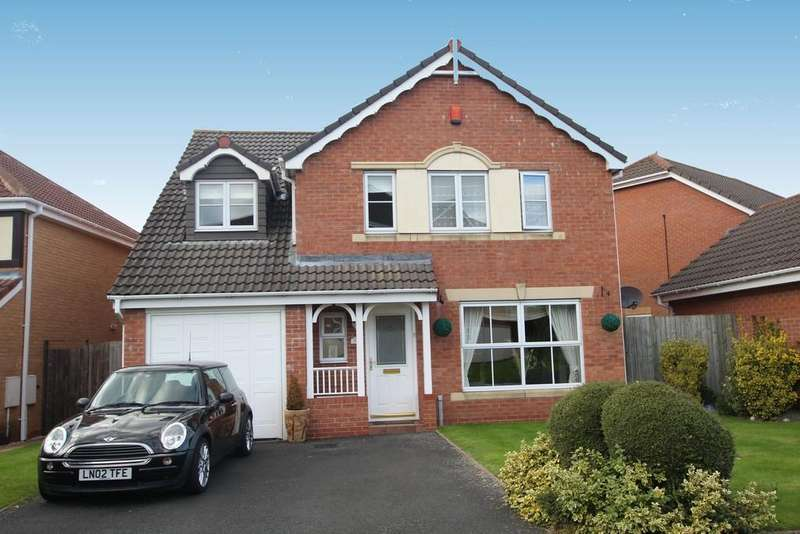5 Bedrooms Detached House for sale in Wyndley Close, Four Oaks, B74 4JD.