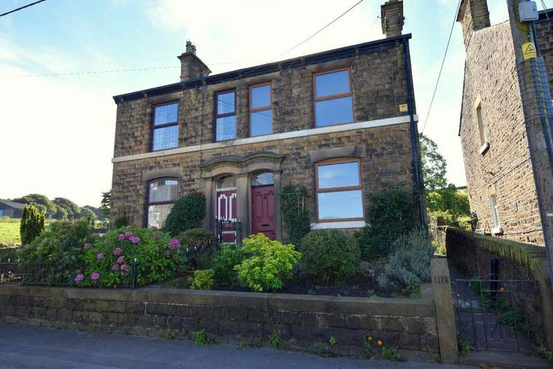 3 Bedrooms Semi Detached House for sale in Glen View, Hayfield Road, Birch Vale