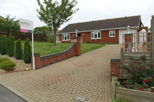 3 Bedrooms Detached Bungalow for sale in Monson Road, Northorpe, Gainsborough, Lincolnshire