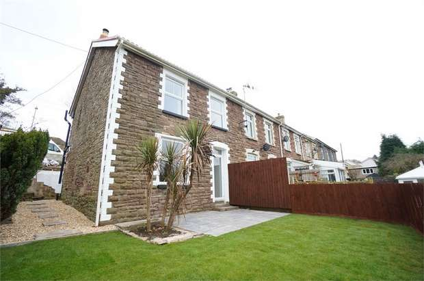 3 Bedrooms End Of Terrace House for sale in Temperance Hill, Risca, NEWPORT