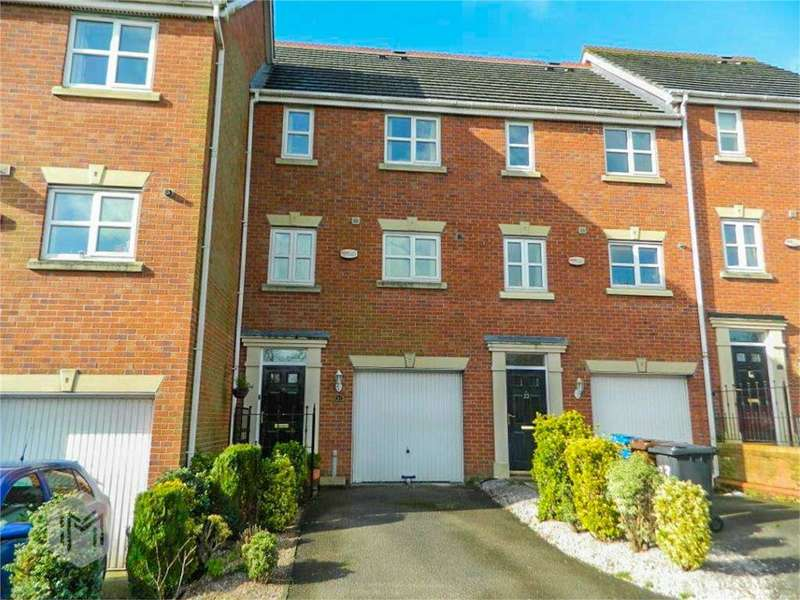 3 Bedrooms Town House for sale in Mulberry Close, Radcliffe, Bury, Lancashire