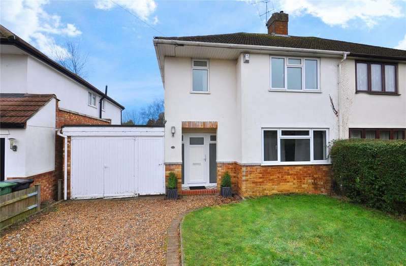 3 Bedrooms Semi Detached House for sale in Stanmount Road, Chiswell Green, St. Albans, Hertfordshire