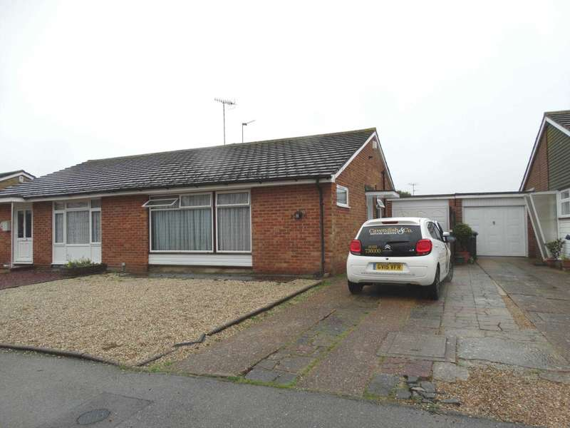 2 Bedrooms Semi Detached Bungalow for sale in Shepham Lane, Polegate