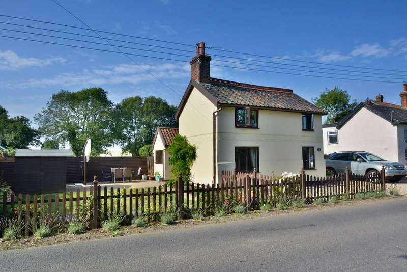 3 Bedrooms Detached House for sale in The Street, Weybread