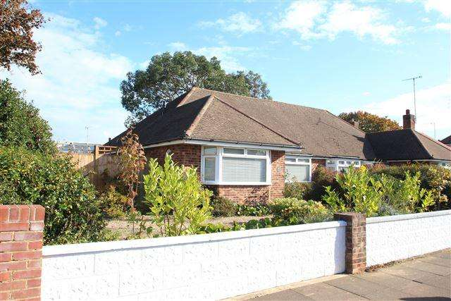 3 Bedrooms Semi Detached Bungalow for sale in Loxwood Avenue, Worthing, West Sussex, BN14 7RB